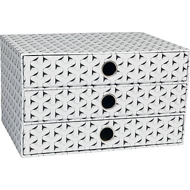 Paperchase Get Organized, 3 Drawer Storage, 12.2