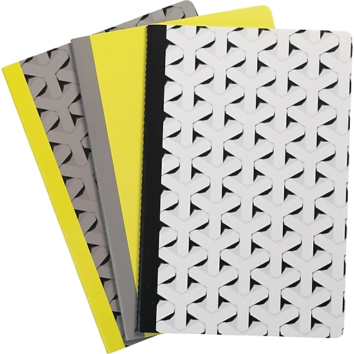 """Paperchase Get Organized, Notebooks, 3/pack, 8.4"""" x 5.7"""" x 0.6"""""""
