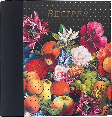 Paperchase Dark Romance Recipe File, 9.6