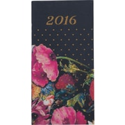 "Paperchase Dark Romance Slim Diary 2016, 6.6"" x 3.3"" x 0.4"""