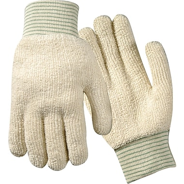 Wells Lamont White 12 / Pack Terrycloth Glove