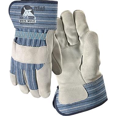 Wells Lamont Mule Work Gloves, Safety Cuff