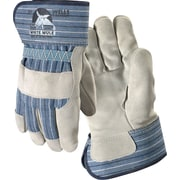 Wells Lamont Mule Work Gloves, Safety Cuff