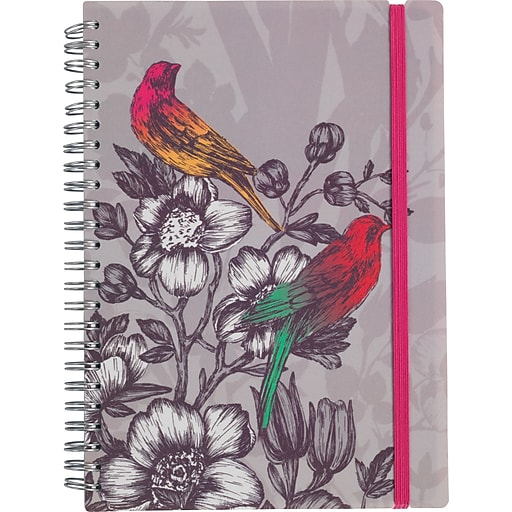 """Paperchase Paradiso Slim Notebook, 8.2"""" x 5.7"""" x 0.1"""""""