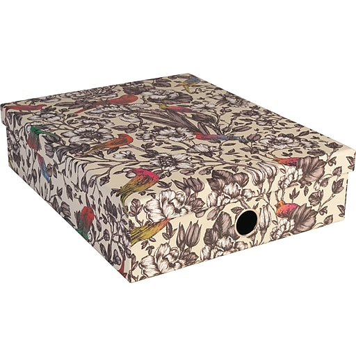 "Paperchase Paradiso Stationery Box, 12.7"" x 10.3"" x 3.3"""