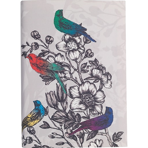 """Paperchase Paradiso Linen Notebook, 8.5"""" x 6.1"""" x 1"""""""