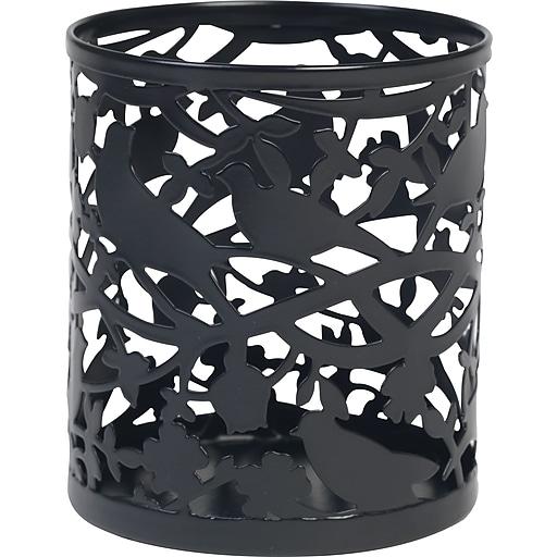 """Paperchase Paradiso Metal Pen Pot, 3.5"""" x 3.9"""" x 3.9"""""""