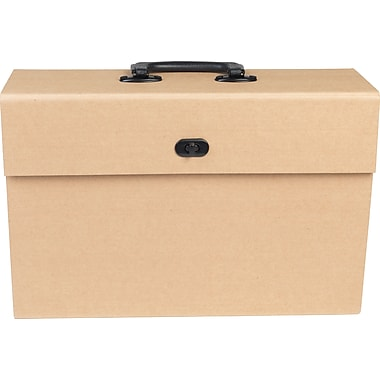 Paperchase Kraft Filing Case w/ Handle