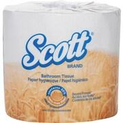 ScottMD – Papier hygiénique en rouleau standard contenant 20 % de fibres de plantes, 80 rouleaux/bte