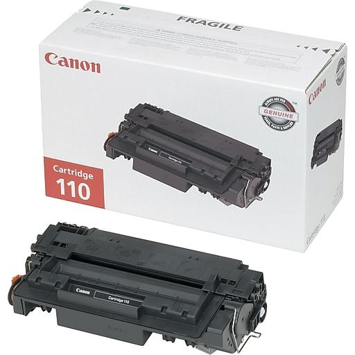 Canon 110 Black Toner Cartridge (0985b004AA), 6000 Page-Yield