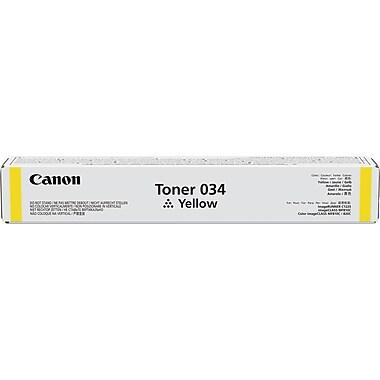 Canon® – Cartouche de toner jaune 034 (9451B001)