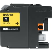 Brother Genuine INKvestment LC10EY Yellow Super High Yield Original Ink Cartridge