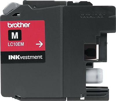 Brother Genuine INKvestment LC10EM Magenta Super High Yield Original Ink Cartridge