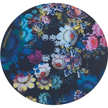Cynthia Rowley Mouse Pad, Cosmic Black Floral