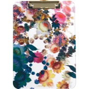 Cynthia Rowley Translucent Clipboard, Cosmic White Floral