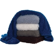 Lavish Home Solid Plush Throw, Assorted Colors