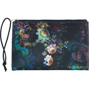 "Cynthia Rowley ""Holds Everything"" Pouch, Cosmic Black Floral"