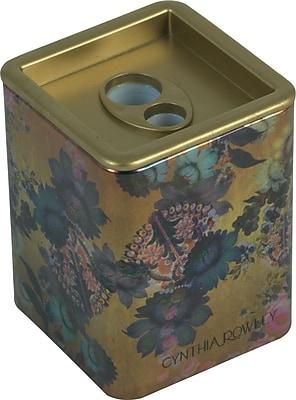 Cynthia Rowley Pencil Sharpener, Gilded Gold Floral