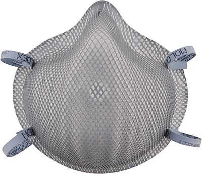 Moldex® Dirt Dawgs® Particulate Respirator, N95, 20/Box