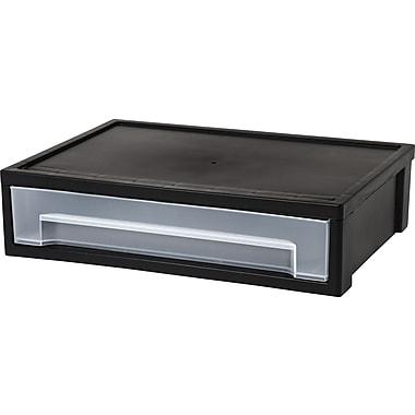 IRIS® Large Desktop Stacking Drawer, Black (150113)