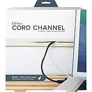 UT Wire 10' Cord Channel, White (UTW-CC1001-WH)