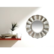 """Infinity Instruments 20"""" Burnished Light Gold Mirror, Brussels"""