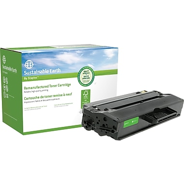 Sustainable Earth by Staples® Reman Laser Toner Cartridge, Samsung MLT-D103, Black, High Yield