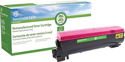 Staples® Remanufactured Color Laser Toner Cartridge, Kyocera TK-562, Magenta