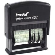 Trodat® - Timbre dateur auto-encreur 4817 avec texte, français