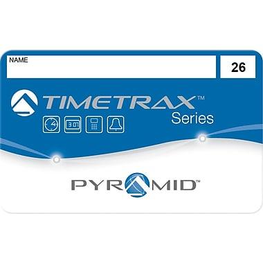 Pyramid TimeTrax Swipe Cards, #26-50, 25 Pack (41303)