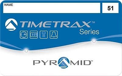 Pyramid TimeTrax Swipe Cards, 50/Pack (41304)