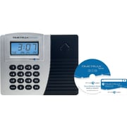 Pyramid TimeTrax Elite Series, Automated Proximity Time Clock System, Ethernet, Silver/Black, (TTPROXEK)