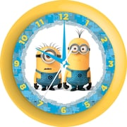 <b>TEST ONLY</b>Squishy Minion™ Clock Stress-Relief and Fidget Ball, MultiColor, (MN12345)