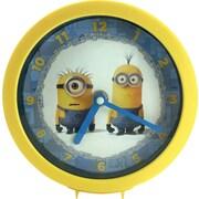 "Pixar ""Despicable Me"" Minions Wall/Table Clock, 6"""