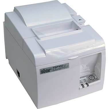 Star Micronics TSP143UGT All-In-One POS Receipt Printer, USB, Ice White