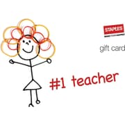 Staples® #1 Teacher Gift Cards
