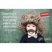 Staples® Albert Einstein Gift Cards