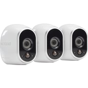 NETGEAR Arlo Security System - 3 Wire-Free HD Cameras, Indoor/Outdoor, Night Vision (VMS3330)