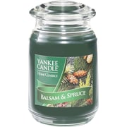 Yankee Candle® Balsam & Spruce Candle, Large Jar