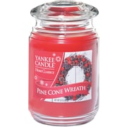 Yankee Candle® Pine Cone Wreath Candle, Large Jar