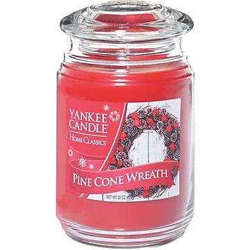 Yankee Candle® Pine Cone Wreath Candle, Large Jar