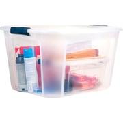 Staples/Bella 71 Quart Plastic Locking Lid container, 6/Case