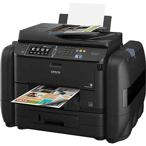 Epson WorkForce Pro EcoTank WF-R4640 Wireless Multifunction Color Inkjet  Printer (C11CE69201)