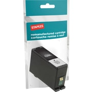 Staples® Reman Inkjet Cartridge, Lexmark 150XL, Black, High Yield