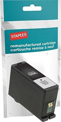 Staples® Reman Inkjet Cartridge, Lexmark 150XL, Black, High Yield