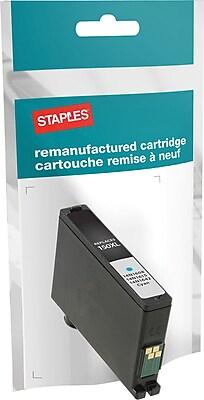 Staples® Reman Inkjet Cartridge, Lexmark 200XL, Cyan, High Yield