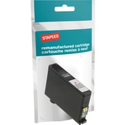 Staples® Reman Inkjet Cartridge, Lexmark 150XL, Magenta, High Yield