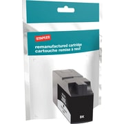 Staples® Reman Inkjet Cartridge, Lexmark 200XL, Black, High Yield