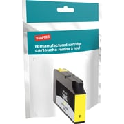Staples® Reman Inkjet Cartridge, Lexmark 200XL, Yellow, High Yield