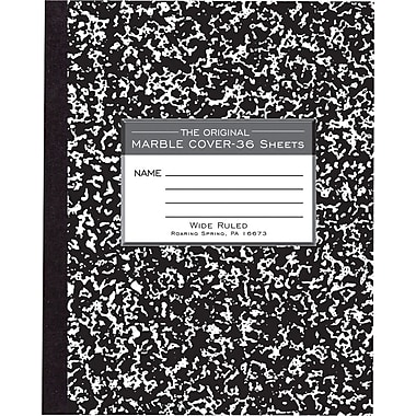 Unicorn: Marble Unicorn Notebook (Composition Book Journal) (8.5 x 11 Large)